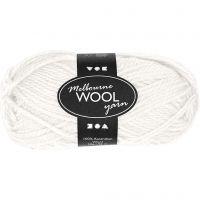 Melbourne lana, L. 92 m, blanquecino, 50 gr/ 1 bola