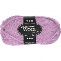 Melbourne lana, L. 92 m, rosado, 50 gr/ 1 bola