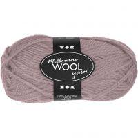 Melbourne lana, L. 92 m, lila claro, 50 gr/ 1 bola