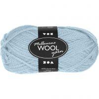 Melbourne lana, L. 92 m, azul turquesa light, 50 gr/ 1 bola