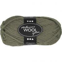 Melbourne lana, L. 92 m, verde oscuro, 50 gr/ 1 bola