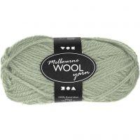 Melbourne lana, L. 92 m, verde claro, 50 gr/ 1 bola
