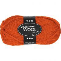 Melbourne lana, L. 92 m, naranja, 50 gr/ 1 bola