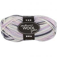 Melbourne lana, L. 92 m, lila pastel, 50 gr/ 1 bola