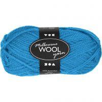 Melbourne lana, L. 92 m, azul claro, 50 gr/ 1 bola