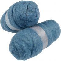 Lana cardada, azul cielo, 2x100 gr/ 1 paquete