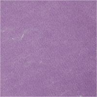 Fieltro para manualidades, Texturado, morado, 10 hoja/ 1 paquete