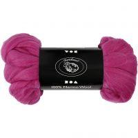 Lana, grosor 21 my, rojo / violeta, 100 gr/ 1 paquete