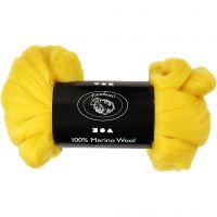 Lana, grosor 21 my, amarillo sol, 100 gr/ 1 paquete