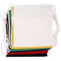 Bolsa con cordón, medidas 37x41 cm, 135 gr, 6 ud/ 1 paquete