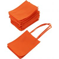 Bolsa, medidas 20x15x7 cm, naranja, 20 ud/ 1 paquete