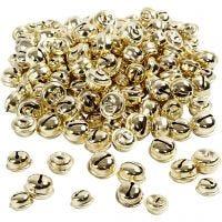 Cascabel, dia: 13+15+17 mm, dorado, 220 stdas/ 1 paquete