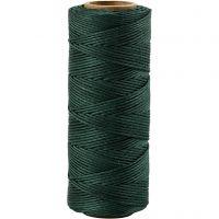 Cuerda de yute, grosor 1 mm, verde, 65 m/ 1 rollo