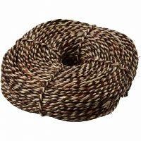 Cuerda marinera, grosor 3,5-4 mm, marrón, 500 gr/ 1 fajo