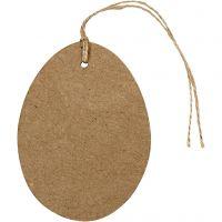 Huevo, A: 10 cm, 6 ud/ 1 paquete