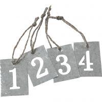 Calendario de adviento, 4 ud/ 1 set