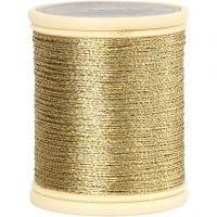 Hilo Metalizado DMC, grosor 0,36 mm, dorado, 40 m/ 1 rollo