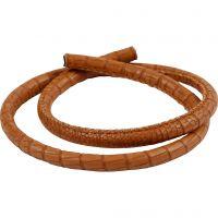 Cable de cocodrilo, grosor 6 mm, marrón, 50 cm/ 1 paquete