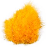 Plumas, medidas 5-12 cm, amarillo, 15 ud/ 1 paquete