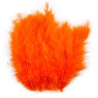 Plumas, medidas 5-12 cm, naranja, 15 ud/ 1 paquete