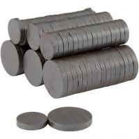 Imanes, dia: 14+20 mm, grosor 3 mm, 2x250 ud/ 1 paquete