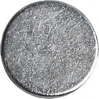 imanes, dia: 10 mm, grosor 2 mm, 100 ud/ 1 paquete