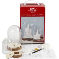 Kits para campanas con decoración interior, A: 12,5+18 cm, 2 ud/ 1 paquete