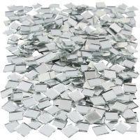 Piezas de espejo para mosaico, medidas 10x10 mm, 500 ud/ 1 paquete