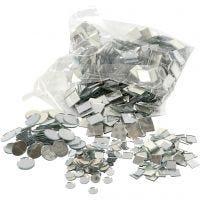 Surtido de piezas de mosaico, dia: 10-18 mm, 1900 ud/ 1 paquete