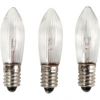 Bombillas LED, A: 45 mm, dia: 15 mm, 3 ud/ 1 paquete