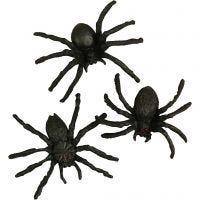 Arañas, medidas 4 cm, 10 ud/ 1 paquete