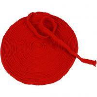 Tubo de punto, A: 10 mm, rojo navideño, 10 m/ 1 rollo