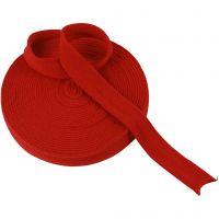 Tubo de punto, A: 30 mm, rojo navideño, 10 m/ 1 rollo