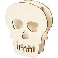 Cráneo, A: 13,5 cm, profundidad 3 cm, A: 11,5 cm, 1 ud