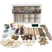 Caja creativa, Natural, 1 set