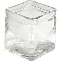 Candelabro, A: 5,5 cm, medidas 5,5x5,5  cm, 12 ud/ 1 caja