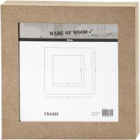 Marco, medidas 30,5x30,5 cm, 1 ud