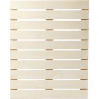Decoración de pared, medidas 40x50,2 cm, grosor 1,1 cm, 1 ud