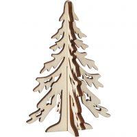 Árbol de Navidad, A: 12,5 cm, A: 8,5 cm, 1 ud