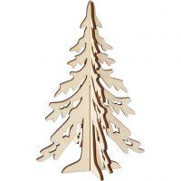Árbol de Navidad, A: 20 cm, A: 13 cm, 1 ud