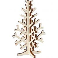 Árbol de Navidad, A: 12 cm, A: 7,5 cm, 1 ud
