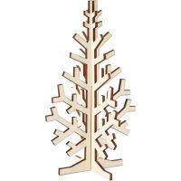 Árbol de Navidad, A: 20 cm, A: 12 cm, 1 ud