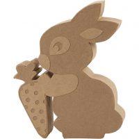 Conejo, A: 18 cm, profundidad 2,5 cm, 1 ud