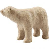 Oso polar, A: 8,5 cm, L. 11,5 cm, 1 ud