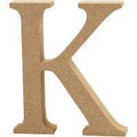 Letra, K, A: 13 cm, grosor 2 cm, 1 ud