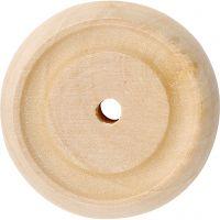Rueda, dia: 30x10 mm, 40 ud/ 1 paquete