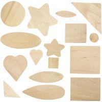 Formas de mosaico, medidas 1,3-5,5 cm, 60 ud/ 1 paquete