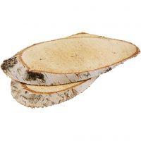 Rodaja de madera, grosor 15 mm, 7 ud/ 1 paquete