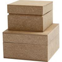 Cajas, A: 4,8+5,5 cm, medidas 7,5+9,5 cm, 2 ud/ 1 paquete