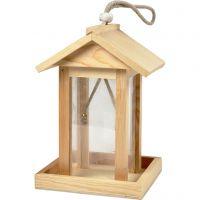 Alimentador de pájaro, A: 21.5 cm, L. 14.5 cm, A: 14,5 cm, 1 ud